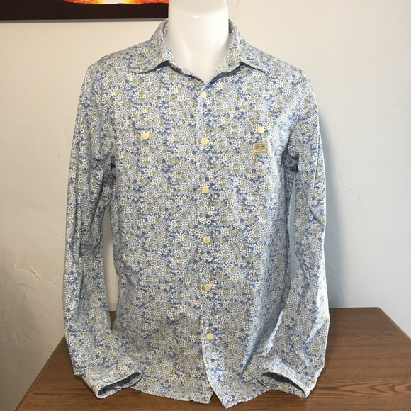 d1d3a04e3 Denim & Supply Ralph Lauren Other - Men's Denim & Supply Light Blue Floral Print  Shirt